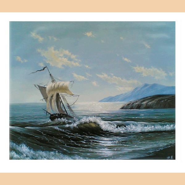 На море